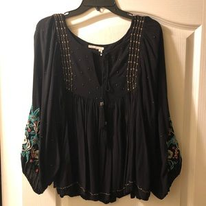 Anthropologie Austral peasant blouse